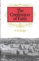 Cover of: Confession of Faith | Archibald Alexander Hodge