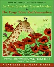 Cover of: In Aunt Giraffe's Green Garden CD: & Frogs Wore Red Suspenders