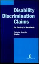 Cover of: Disability Discrimination Claims | Catherine Casserley
