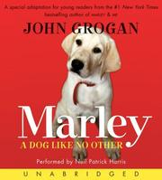 Cover of: Marley CD: A Dog Like No Other