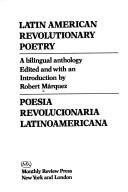Cover of: Latin American revolutionary poetry =