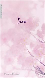 Cover of: Snow  | Maxence Fermine