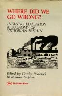 Cover of: Where did we go wrong? |