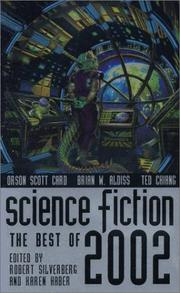 Cover of: Science Fiction: The Best of 2002 (Science Fiction: The Best of ...) | Robert Silverberg