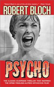 Cover of: Psycho | Robert Bloch