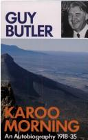 Cover of: Karoo Morning