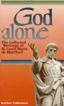 Cover of: God alone