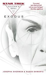 Cover of: Vulcan's Soul Trilogy Book One: Exodus