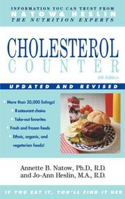 The cholesterol counter by Annette B. Natow
