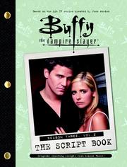 Cover of: Buffy the Vampire Slayer (Buffy the Vampire Slayer: The Script Book Season One #2)