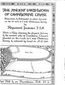 Cover of: The ancient earthworks of Cranborne chase