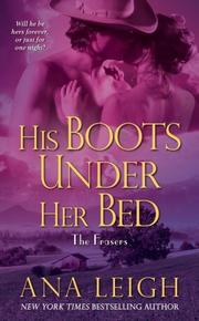 Cover of: His Boots Under Her Bed (Frasers)