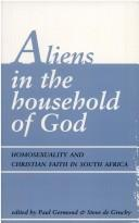 Cover of: Aliens in the household of God |