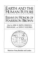 Cover of: Earth and the human future