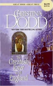 Cover of: The Greatest Lover in All England |