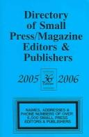 Cover of: Directory Of Small Press/magazine Editiors & Publishers 2005-2006 (Directory of Small Press and Magazine Editors and Publishers) | Len Fulton