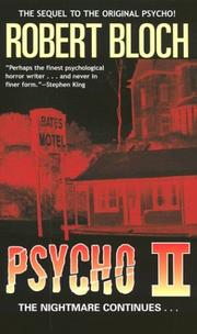 Cover of: Psycho II