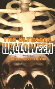 Cover of: The Ultimate Halloween | Marvin Kaye