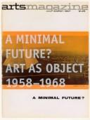 Cover of: A Minimal Future | Museum of Contemporary Art (Los Angeles, Calif.)