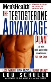 Cover of: The Testosterone Advantage Plan | Lou Schuler
