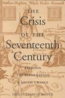 Cover of: The crisis of the seventeenth century