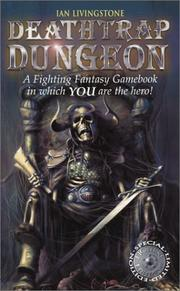 Cover of: Deathtrap Dungeon