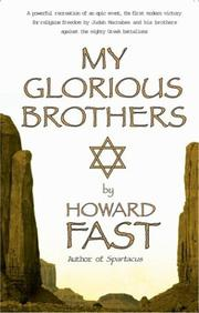 Cover of: My glorious brothers