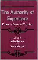 Cover of: The Authority of experience |