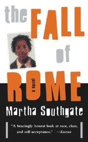 Cover of: The Fall of Rome | Martha Southgate