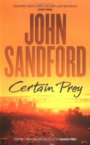 Cover of: Certain Prey
