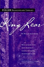 Cover of: King Lear by William Shakespeare, Paul Werstine