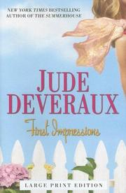 Cover of: First Impressions | Jude Deveraux