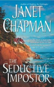 Cover of: The seductive impostor | Janet Chapman