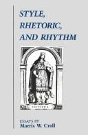 Style, Rhetoric, and Rhythm