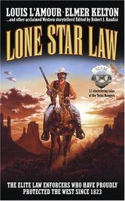 Cover of: Lone Star Law |