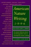 Cover of: American Nature Writing 1996 | John A Murray