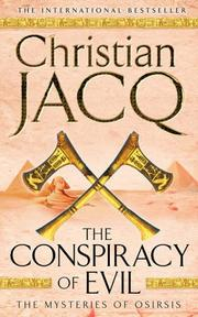 Cover of: The Conspiracy of Evil (Mysteries of Osiris)