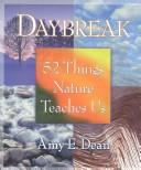 Cover of: Daybreak | Amy Dean