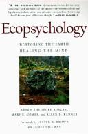 Cover of: Ecopsychology by