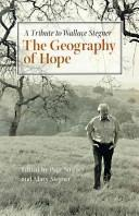 Cover of: Geography of Hope: A Tribute to Wallace Stegner