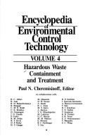 Cover of: Hazardous waste containment and treatment |