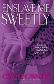 Cover of: Enslave Me Sweetly (Alien Huntress, Book 2)