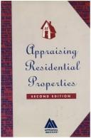 Cover of: Appraising Residential Properties