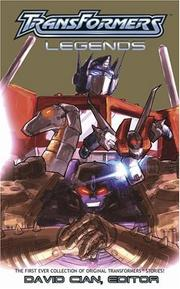 Cover of: The Transformers Legends | David Cian