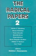 Cover of: Radical Papers 2