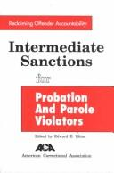 Cover of: Reclaiming Offender Accountability Intermediate Sanctions for Probation and Parole
