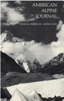 Cover of: American Alpine Journal, 1976