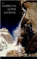 Cover of: American Alpine Journal, 1985