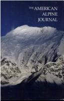 Cover of: The American Alpine Journal, 1989 (Journals)