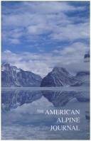 Cover of: American Alpine Journal 1996